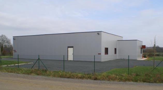 construction bureaux, construction atelier et stockage