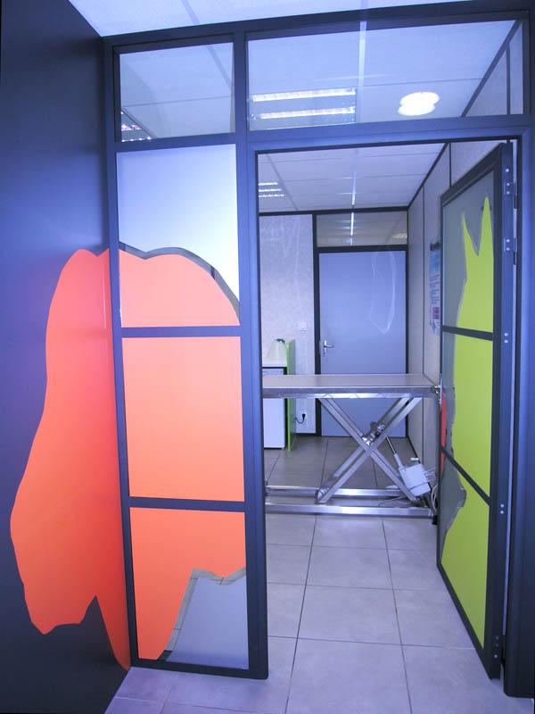 salle de consultation design construction clinique vétérinaire design