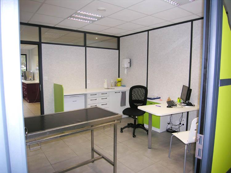 aménagement salle de consultation vétérinaire construction clinique vétérinaire design