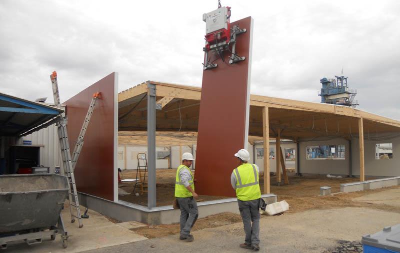 construction batiment professionnel, constructeur de bureaux