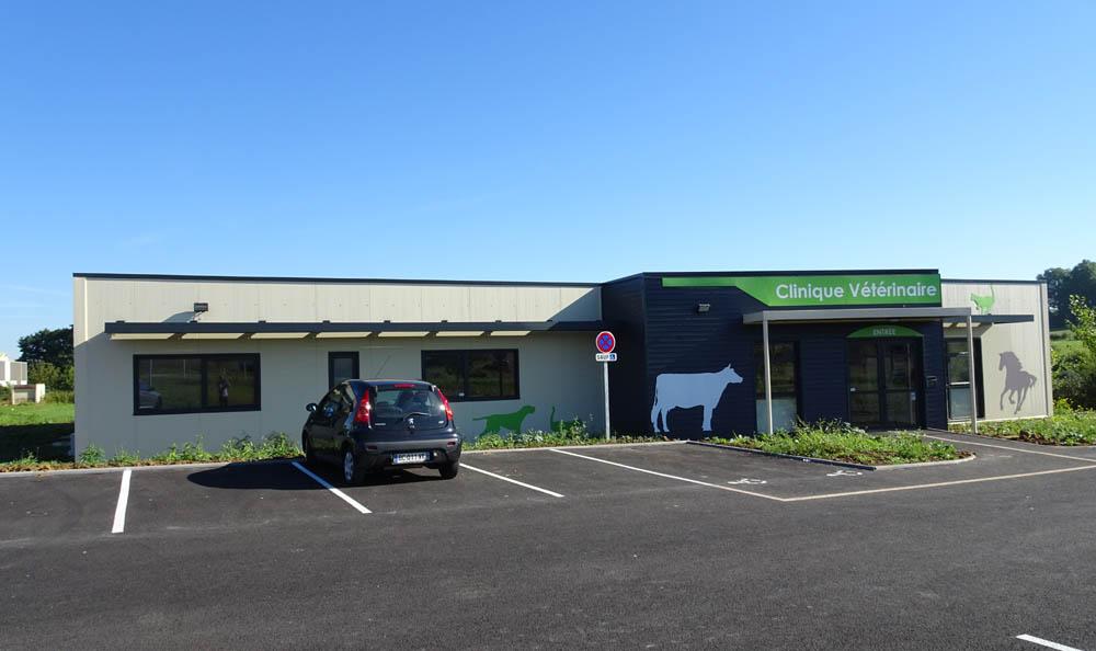construction d'une clinique vétérinaire clé en main extérieur