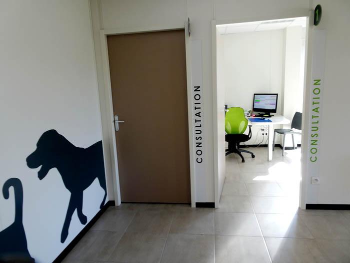 construction d'une clinique vétérinaire clé en main aménagement intérieur consultations