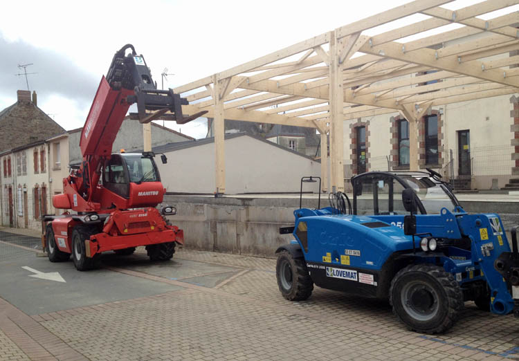 construction accueil périscolaire