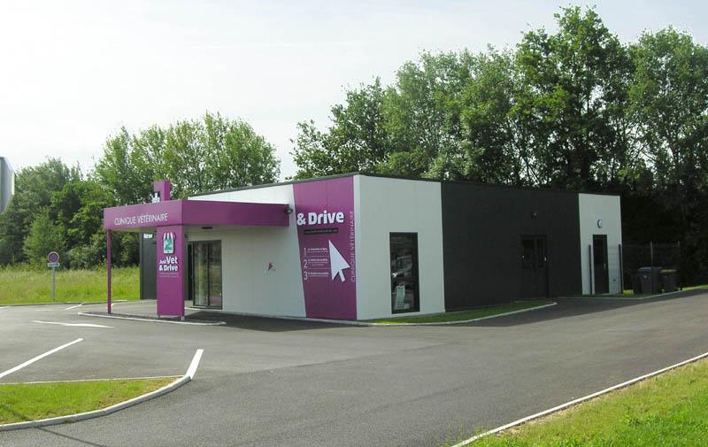 clinique vétérinaire design conçeption et construction Le Guillerm Constructions