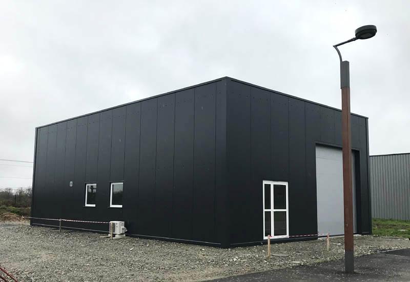 Construction bâtiment d'activité, bâtiment industriel