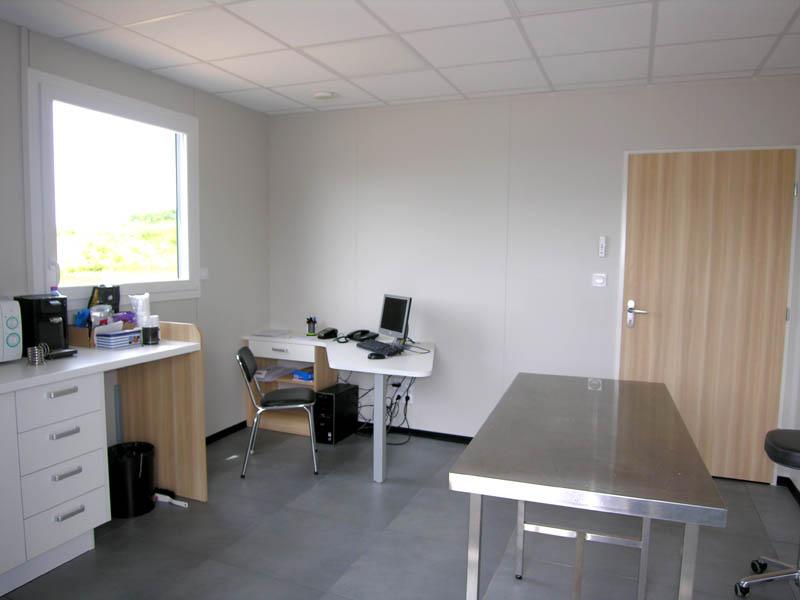 clinique vétérinaire Grandvilliers Réalisation Le Guillerm Constructions  (2)